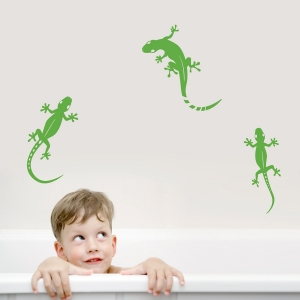 Gecko Lizards Wall Decal