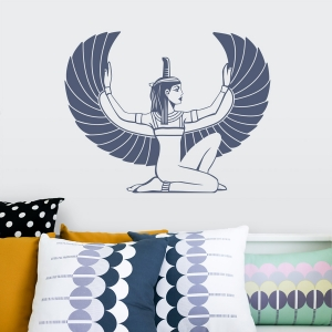 Maat Goddess Wall Decal
