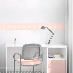 Polka Dot Removable Wallpaper Border
