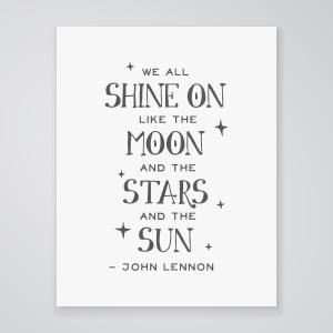 Shine On - Art Print