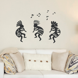Southwest Kokopelli Wall Decal