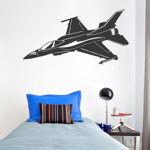 Aircraft Jet Wall Decal