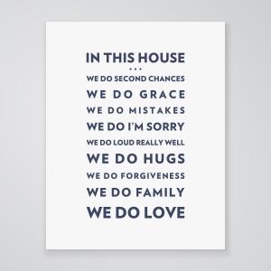 We Do Love - Art Print