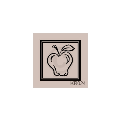 Apple Box Wall Art Vinyl Decal Sticker Quote