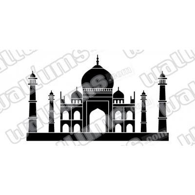 Taj Mahal Wall Art Decal