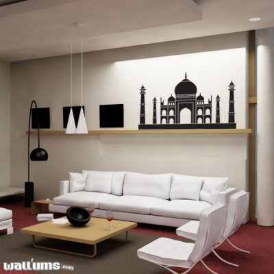 Taj Mahal wall decal