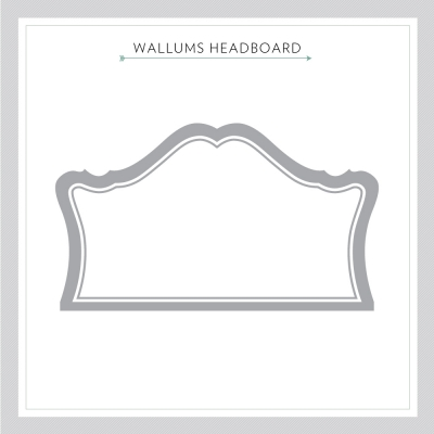 Headboard Wall Decal Sticker