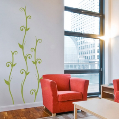 Jungle vines wall decal