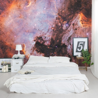 Space Nebula Wall Mural