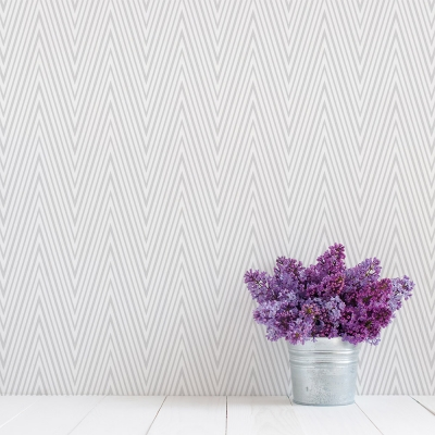 Stretched Chevron Removable Wallpaper Tile
