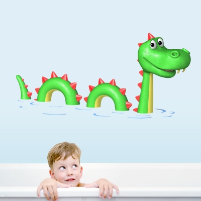 3D Water Dragon Printed Decal