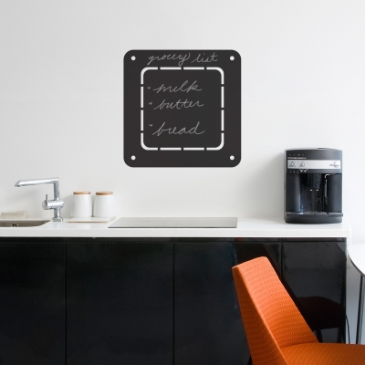 Dashed Square Chalkboard Wall Decal