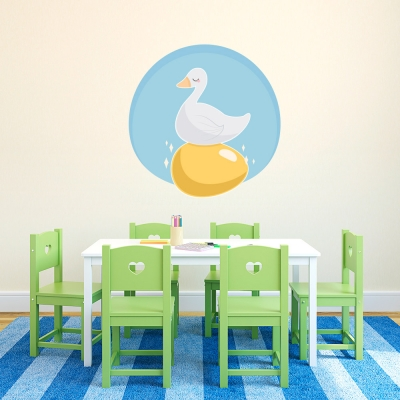Golden Goose Wall Decal