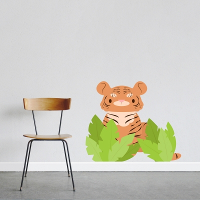 Little Tiger Wall Decal