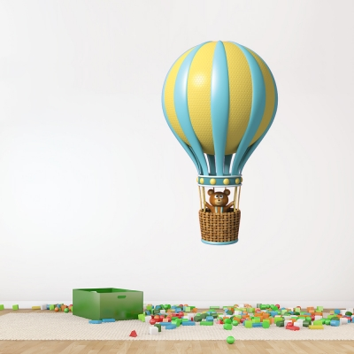 3D Balloon Blue