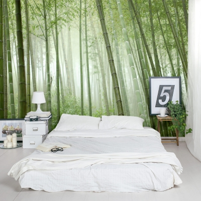 Bamboo Grove Bedroom Wall Mural