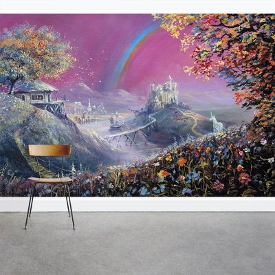 Dream Land Wall Mural