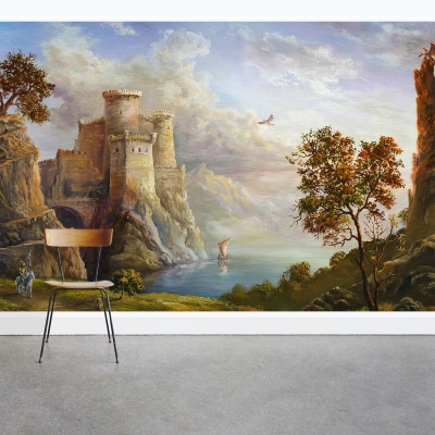 Fairy Tale Kingdom Wall Mural