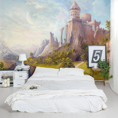 The Oldest Castle Wall Mural