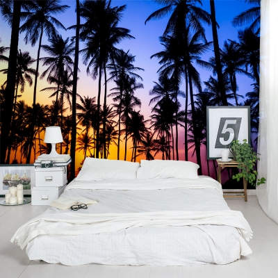 Tropical Trees Wall Mural