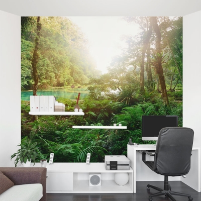 Sunrise Marsh Wall Mural