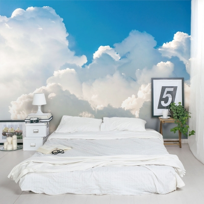 Cumulus Clouds Wall Mural