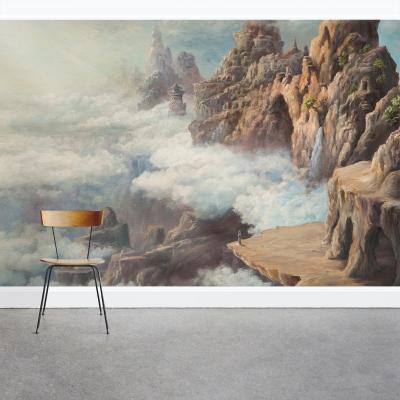 A Far Away Land Wall Mural