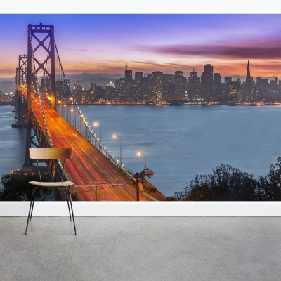Bay Bridge to San Francisco Wall Mural