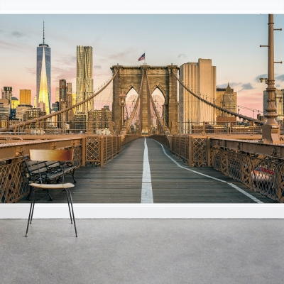 Manhattan Sunrise Wall Mural