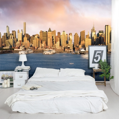 New York Bay Wall Mural