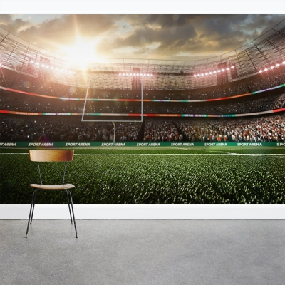 American Football Star Wall Mural