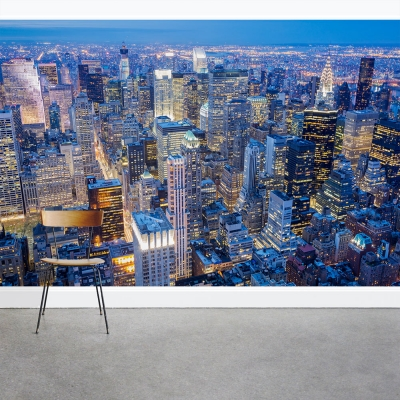 Manhattan Lights Wall Mural