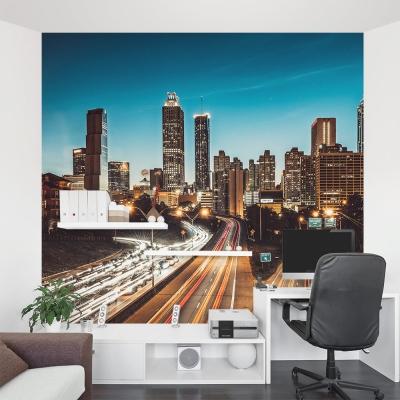 Atlanta Cityscape Wall Mural