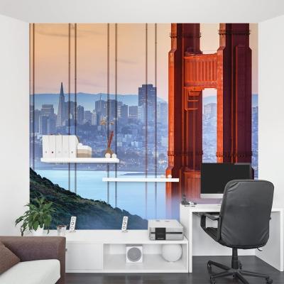 San Francisco at Dawn Wall Mural