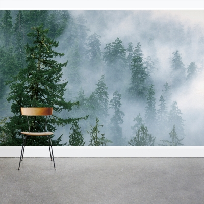 Evergreen Forest Mural