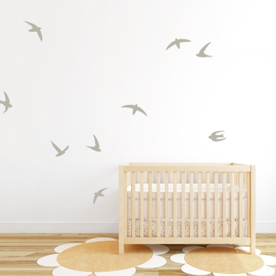 Swift Birds Wall Decal