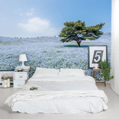 Flower Field Wall Mural