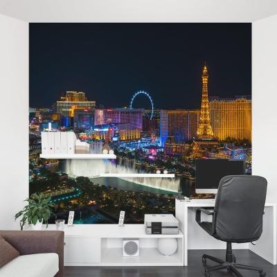 Las Vegas Strip at Night Wall Mural