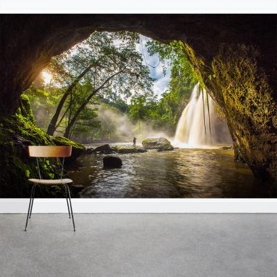 Waterfall Cave Wall Mural
