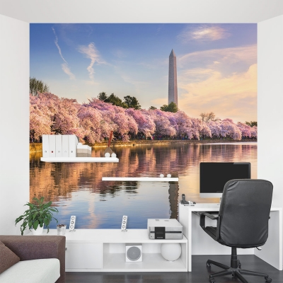 Blossoms at the Monument Wall Mural