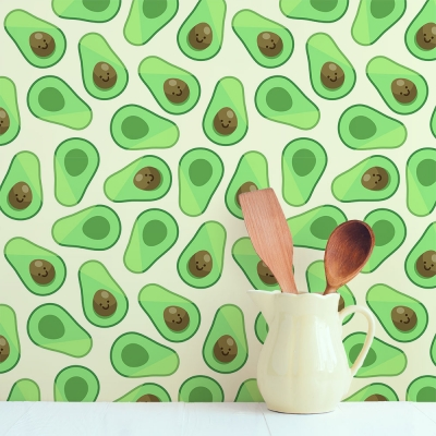 Avocado Removable Wallpaper Tiles