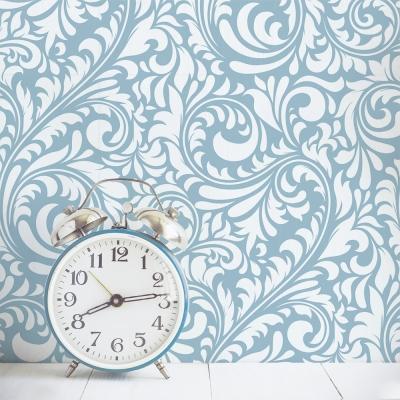 Baroque Swirl Removable Wallpaper Colors