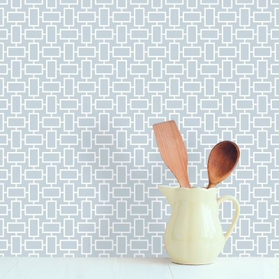Box Reverse geometric simple wall paper