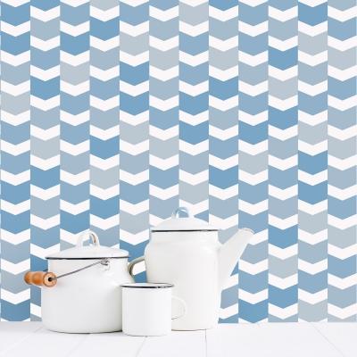 Chevron Scales Wallpaper Colors