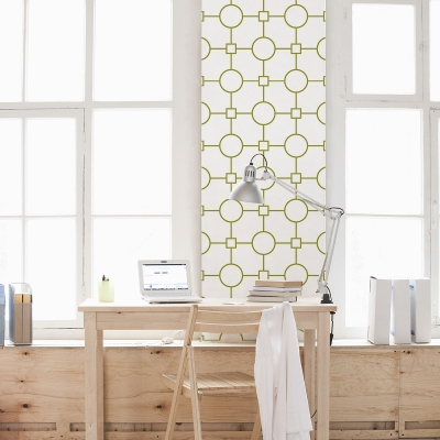 Circle Square Removable Wallpaper Tiles