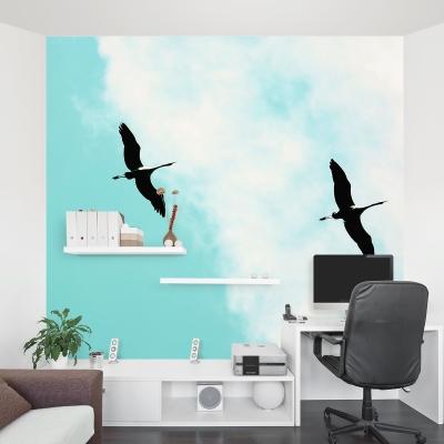Cranes V Wall Mural