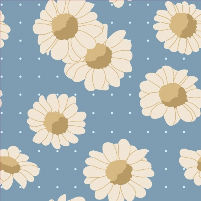 Daisy Removable Wallpaper Tiles