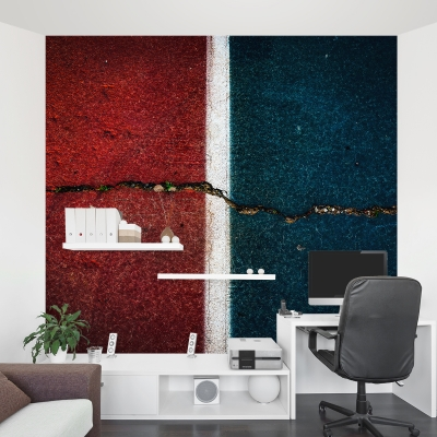 Fault Lines Wall Mural