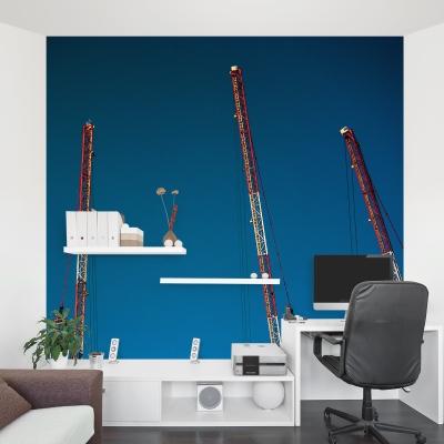 Four Cranes Wall Mural