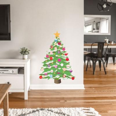 Christmas Tree Standard Printed Wall Decal
